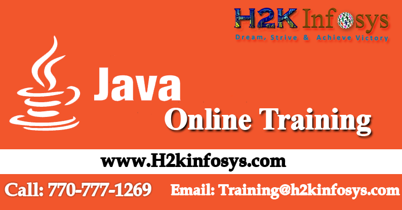 Java Online Training Course in USA