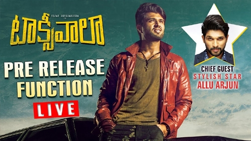taxiwaala pre release event