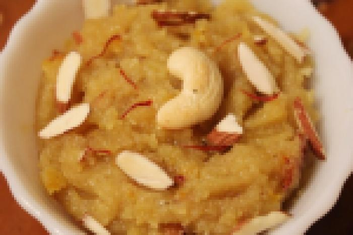Healthy Apple Halwa!