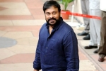 Chiranjeevi Pays a Surprise visit to Ram Charan's sets