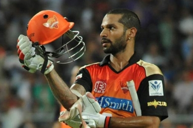 Dhawan Leads SRH to a comfortable win