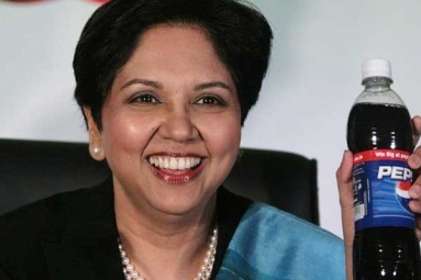 PepsiCo CEO Indra Nooyi Takes Shot at Coke on Her Last Day