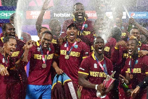 """Nothing quite like that finish to a game 6 6 6 6 congrats WI !"", says Warne"